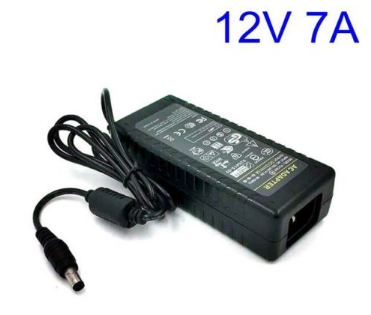 NEW Universial LED Strip 12V 7A 84W Power Supply Charger AC DC Adapter