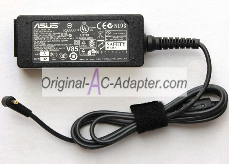 Asus 19V 2.1A For Asus Eee PC 1201T Power AC Adapter - Click Image to Close