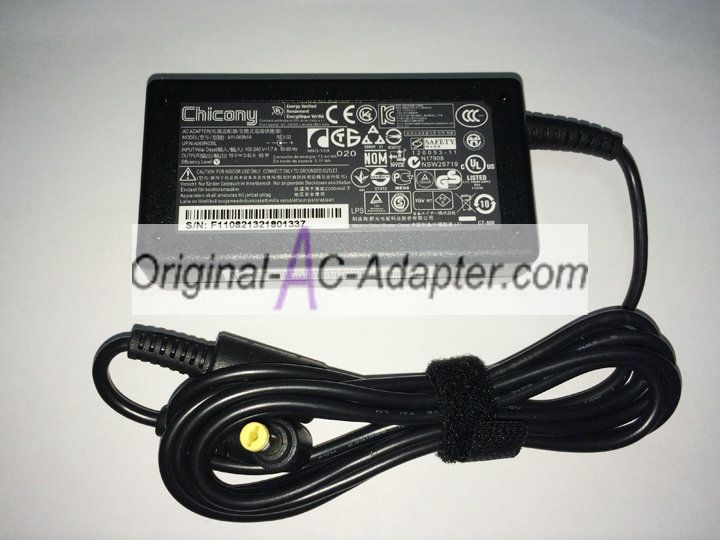 Chicony 19V 3.42A 4.5mm x 3.0mm Power AC Adapter
