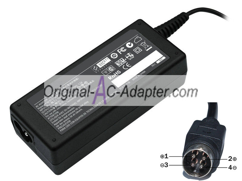 Delta 15V 4A 4 Pin with round head Power AC Adapter
