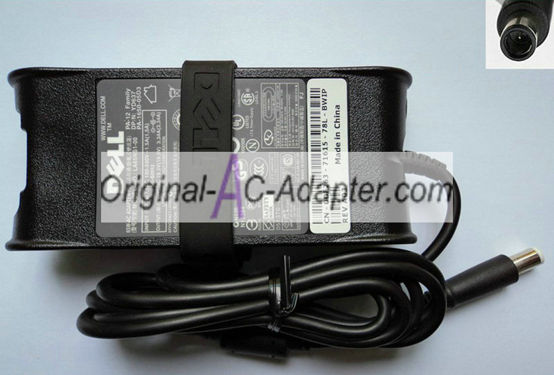 Dell 19.5V 3.34A For Dell Inspiron 17R(7720) Power AC Adapter