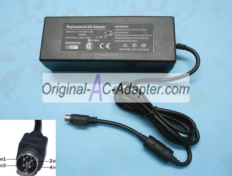 FSP 24V 5A 4Pin Power AC Adapter
