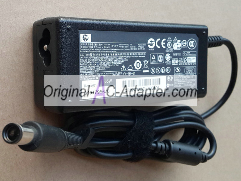 Hipro 18.5V 3.5A 7.4mm x 5.0mm Power AC Adapter