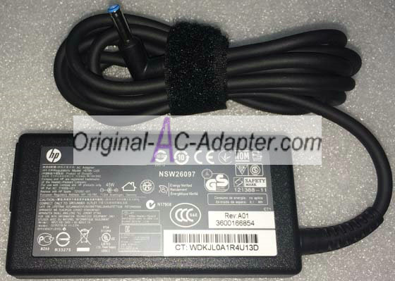 HP 19.5V 2.31A 4.5mm x 3.0mm Power AC Adapter