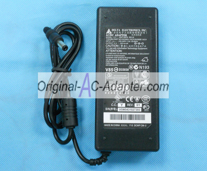 LCD 24V 4A 96W LED Power AC Adapter