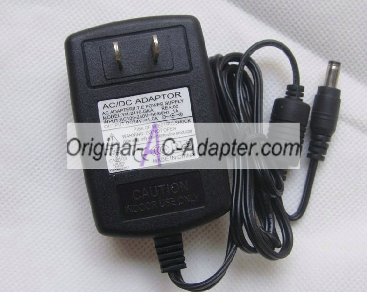 LCD 24V 1A 24W 5.5mm x 2.5mm Power AC Adapter