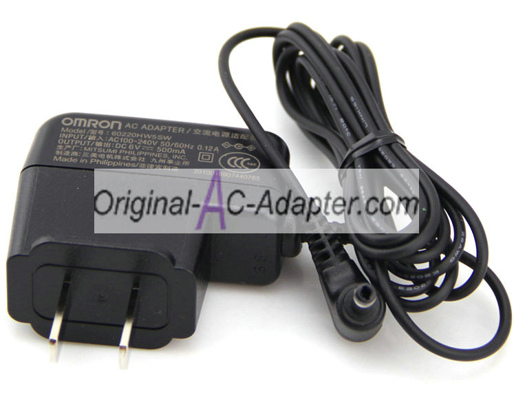 Omron 6V 500mA For Omron HEM-7200 Power AC Adapter