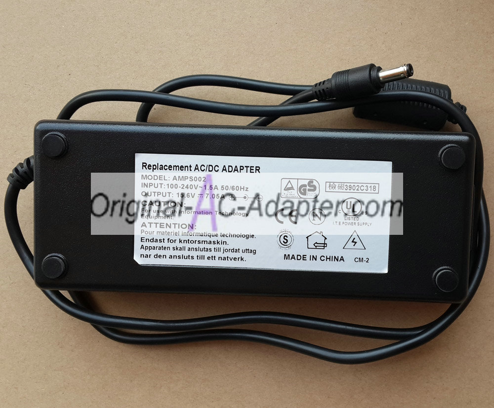 Panasonic 15.6V 7.05A For Panasonic Toughbook CF-52P Power AC Adapter