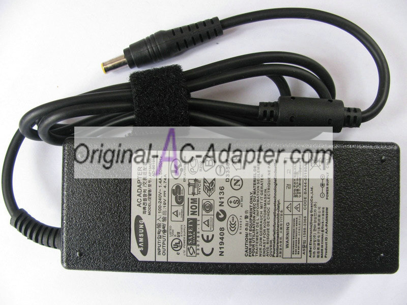 Samsung 19V 4.74A For Samsung GT6400 Power AC Adapter